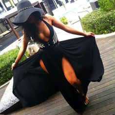 outfitmadestyle:  Flowee Maxi Skirt (available at Outfit Made)