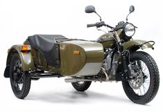 Ural Motorcycle with side car.  Spent the day in one today! Loved the peace and company!