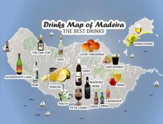 15 Drinks You Must Try in Madeira Island while staying at Casa do Miradouro - www.casadomiradouro.com or MaideiraCasa - www.madeiracasa.com Madeira - Portugal