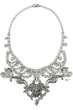 Tom Binns ● Swarovski crystal necklace.       VF