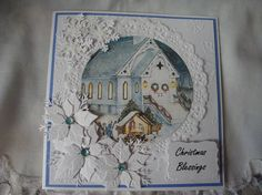 Christmas Card Xmas Card Religious Holiday Happy Holidays