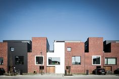 13 houses | gentbrugge - Projects - CAAN Architecten / Gent