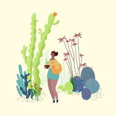 Cacti Wanderlust - a u d r e y j. l