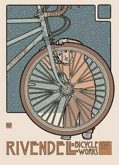 Rivendell Bikes, Walnut Creek CA.