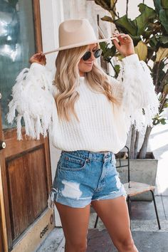 Trendy Fall Outfits, Outfits With Hats, Fall Fashion Outfits, Mode Outfits, Fall Winter Outfits, Short Outfits, Autumn Fashion, Fall Beach Outfits, Stylish Outfits