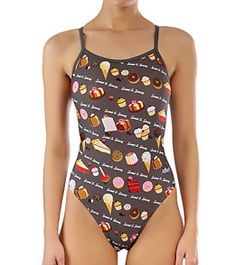 6812d74df584b Sporti Desserts Thin Strap Swimsuit at SwimOutlet.com