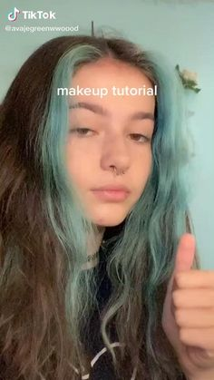 Indie Makeup, Edgy Makeup, Grunge Makeup, Skin Makeup, Beauty Makeup, Cute Makeup Looks, Makeup Looks Tutorial, Makeup Eye Looks, Pretty Makeup