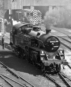 steam train 80002 by Malcolm R Bell, via Flickr