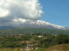 Mt. Etna, Sicily.  There is a great tour of the volcano and the surrounding area is home to some  unique vineyards.  The volcanic soil gives the wine a beautiful flavor.
