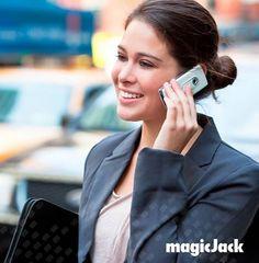 magicJack make free calls