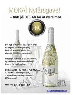 Campaign using Newsperience Facebook Competition App / konkurrence  Newsperience.dk  mokaï nytår