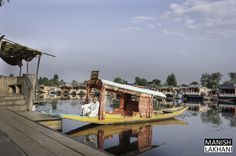 Experience when you are in #Srinagar, ride in #Shikara, stay in House Boat, walking around Dal Lake and floating Market.