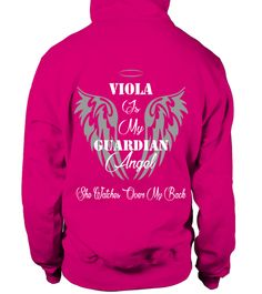 # VIOLA IS MY GUARDIAN ANGEL .  VIOLA IS MY GUARDIAN ANGEL  A GIFT FOR THE SPECIAL PERSON  It's a unique tshirt, with a special name!   HOW TO ORDER:  1. Select the style and color you want:  2. Click Reserve it now  3. Select size and quantity  4. Enter shipping and billing information  5. Done! Simple as that!  TIPS: Buy 2 or more to save shipping cost!   This is printable if you purchase only one piece. so dont worry, you will get yours.   Guaranteed safe and secure checkout via:  Paypal…