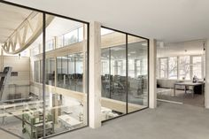 Artis Headquarters by Roswag Architekten [factory, berlin, germany, wood, large spans]