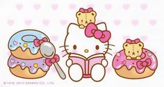 Donut Hello Kitty.