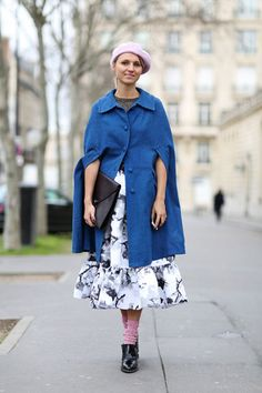 Artsy Prints That'll Pablo Picasso Your Wardrobe #refinery29  http://www.refinery29.com/printed-clothing#slide11  There's a lot of look here, but our eyes are immediately drawn to this printed midi-skirt.