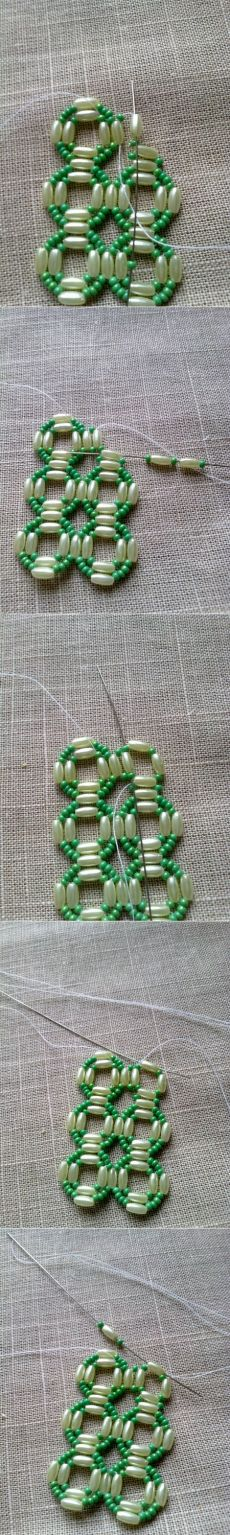 Beaded scheme - use for bracelet or necklace