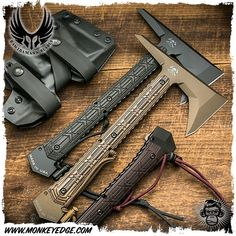 Bawidamann Blades: RMJ Tactical Ragnarok 12 Tomahawk (:Tap The LINK NOW:) We provide the best essential unique equipment and gear for active duty American patriotic military branches, well strategic selected.We love tactical American gear Survival Weapons, Tactical Survival, Survival Tools, Survival Knife, Survival Prepping, Wilderness Survival, Survival Items, Rmj Tactical, Tactical Knives