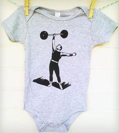 Strongman Baby Bodysuit