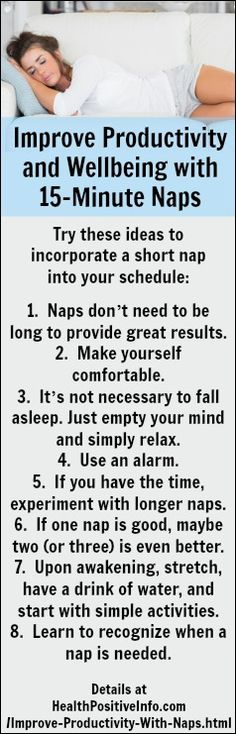 Improve Productivity with Naps  http://healthpositiveinfo.com/improve-productivity-with-naps.html