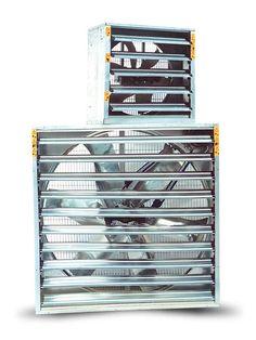 I ventilatori estrattori permettono di eliminare l'aria ristagnante all' interno degli ambienti industriali