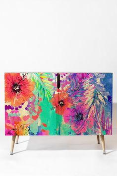 Holly Sharpe Hawaiian Heat Credenza | DENY Designs Home Accessories