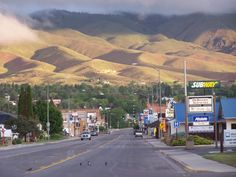 Salmon, Idaho - my sleepy little, two-stoplight hometown.
