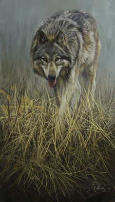 """On the Move"" 24x14, oil painting on masonite by Joe Kronenberg"