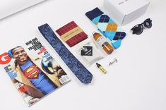 Every month we ship out stylish curated men's fashion products to each of our subscribers. Our boxes include 5-6 different handpicked men's products, all yours to keep. Typical items will include ties, socks, pocket squares, grooming products & really anything related to making you look dapper! Simply subscribe and leave the rest to us.