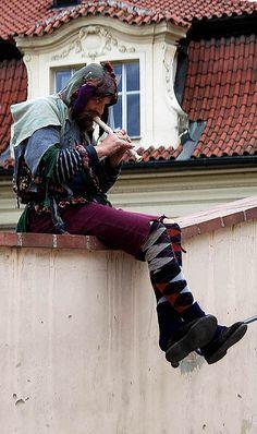 Street Flautist of Prague - Prague Old Town, Prague