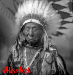 Red Cloud ,Ma píya Lúta, Chief of Iteśica band,Oglala Lakota Native American History, Native American Indians, Native Americans, Native Indian, Native Art, Cloud Quotes, Oglala Sioux, Red Cloud, Glam Rock