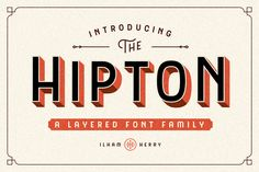 The HIPTON - 50% OFF ~ Display Fonts on Creative Market