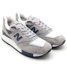 #NewBalance M998RR - Grey/Blue #sneakers