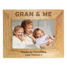 grandparent photo Personalised Nan & Me Wooden Photo Frame Engraved Photo Frames, Personalized Photo Frames, Personalized Gifts For Her, Personalized Christmas Gifts, Grandparents Photo Frame, Grandparent Photo, Simple Photo Frame, Wedding Anniversary Photos, Photo Engraving
