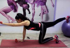 ВИДЕО: Простые, но ЭФФЕКТИВНЫЕ упражнения против ненавистных складок на спине и боках…