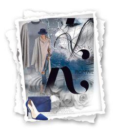 """Loose Grey Cardigan"" by dunjavasic ❤ liked on Polyvore featuring KAROLINA"