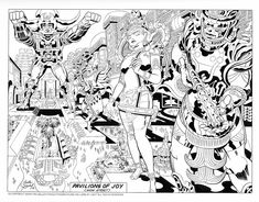 """The Lost Jack Kirby Sketches For The (Real) """"Argo"""" FilmProject"""