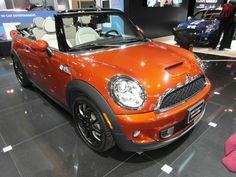 Canadian International Auto Show 2012. Taken by me with my Samsung WB-700  Mini Cooper