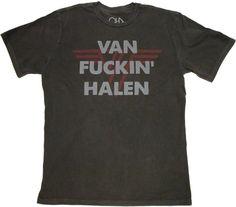 VAN FUCKIN' HALEN!!! One of the best rock bands ever.