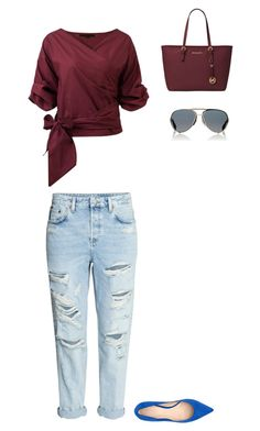 """""""Untitled #117"""" by selise-miles on Polyvore featuring Givenchy, Nine West and Michael Kors"""