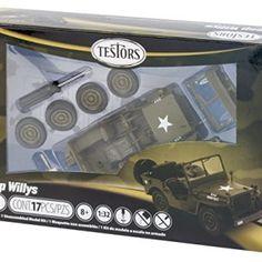 Testors-Jeep-Willys-Model-Kit-132-Scale-0
