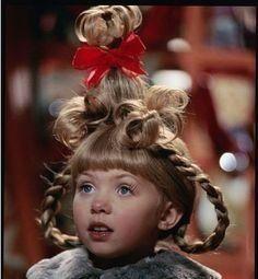How To Do Cindy Lou Hair Do Tutorial | 1003