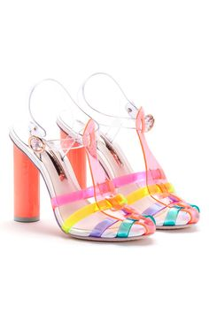 Sophia Webster, Jelly sandals Spring 14