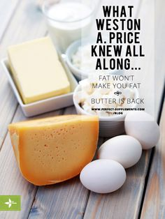 What Weston A. Price Knew All Along... #Health #Nutrition #ButterIsBack