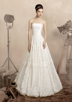 """Vintage wedding dress from Papilio """"Road to Hollywood"""" bridal collection!"""