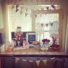 Sugar and spice and everything nice baby girl shower