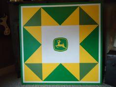 John Deere barn quilt.