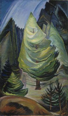 Little Pine (oil on canvas) 1931, Emily Carr