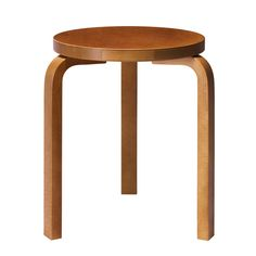 The Aalto Stool 60 has new, bold colors thanks to the collaboration between Artek and Hella Jongerius.