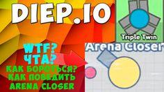 Diep.io I Arena Closer l как избавиться от стражей арены l